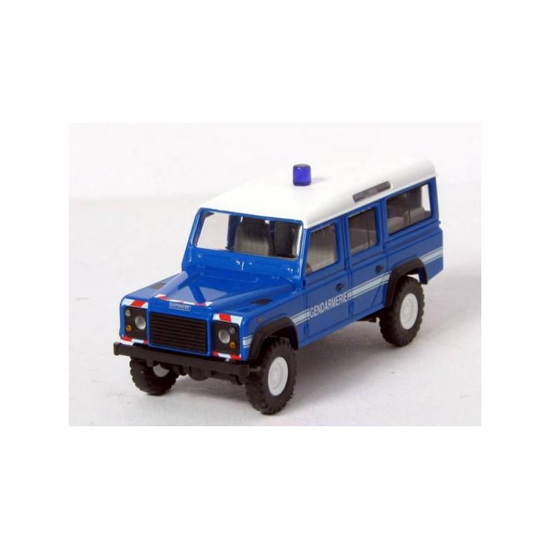 """Land Rover Defender 1983 """"Gendarmerie"""" bleu - H0"""
