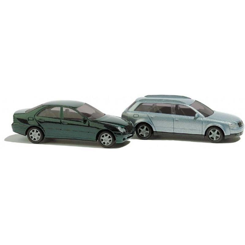 Audi A4 + Mercedes Class C - N