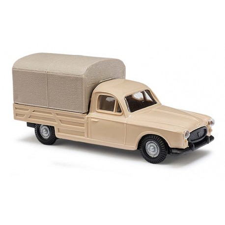 Peugeot 403 pick-up bâché beige - H0