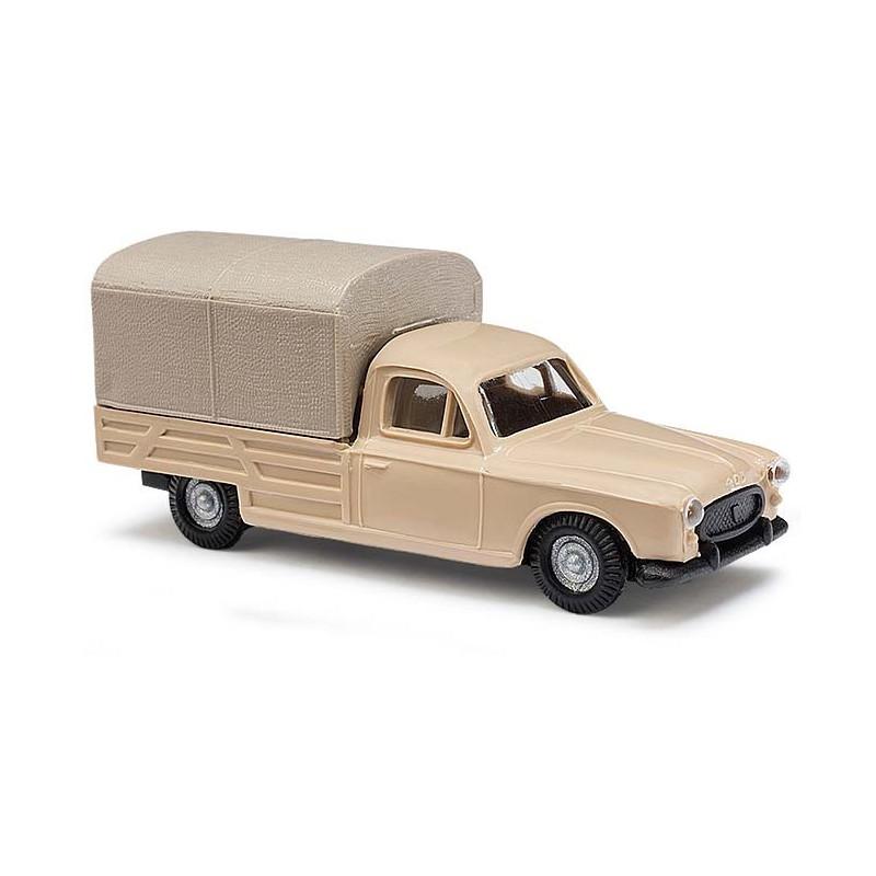 Peugeot 403 pick-up bâché beige - H0