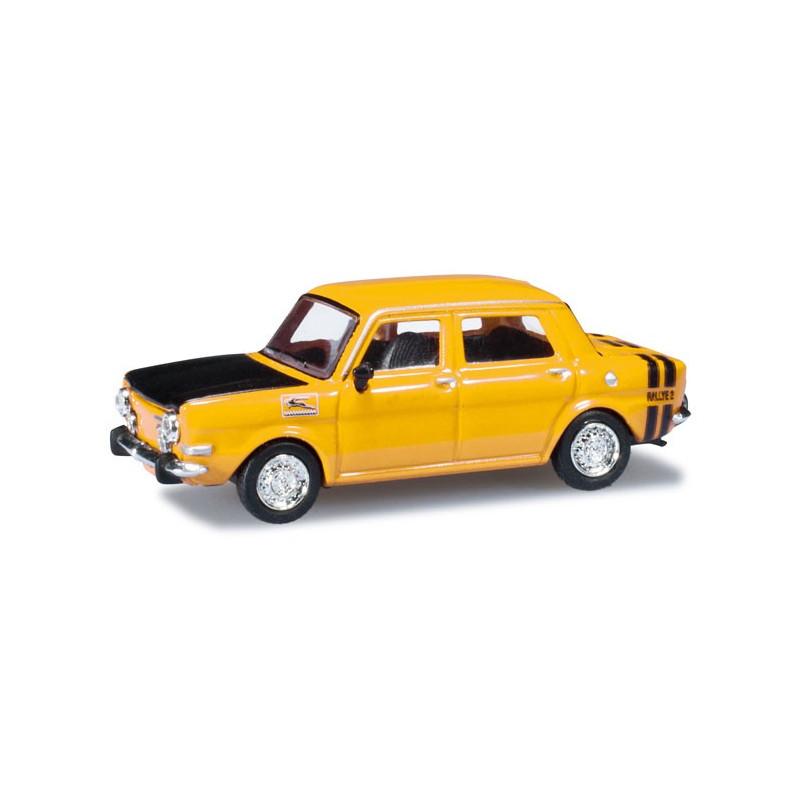 Simca 1000 Rallye II jaune - H0