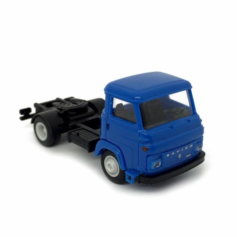Tracteur SAVIEM SM8 T 2 essieux - bleu - H0