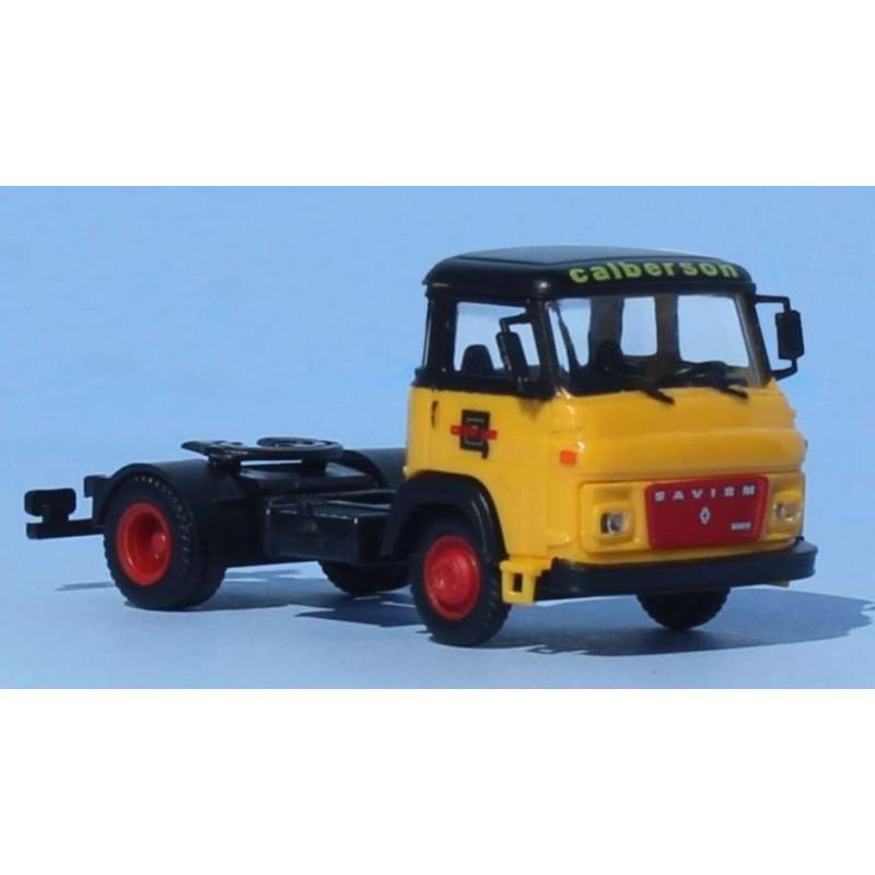 "Tracteur SAVIEM SM8 T 2 essieux enseigne ""CALBERSON"" - H0"