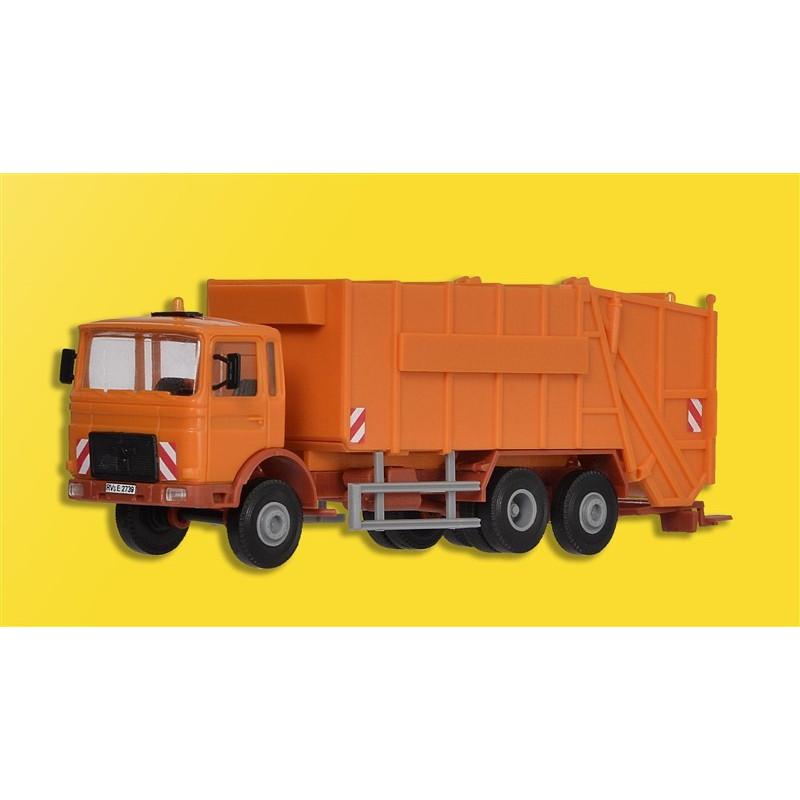"""Camion """"poubelles"""" MAN - à monter - H0"""