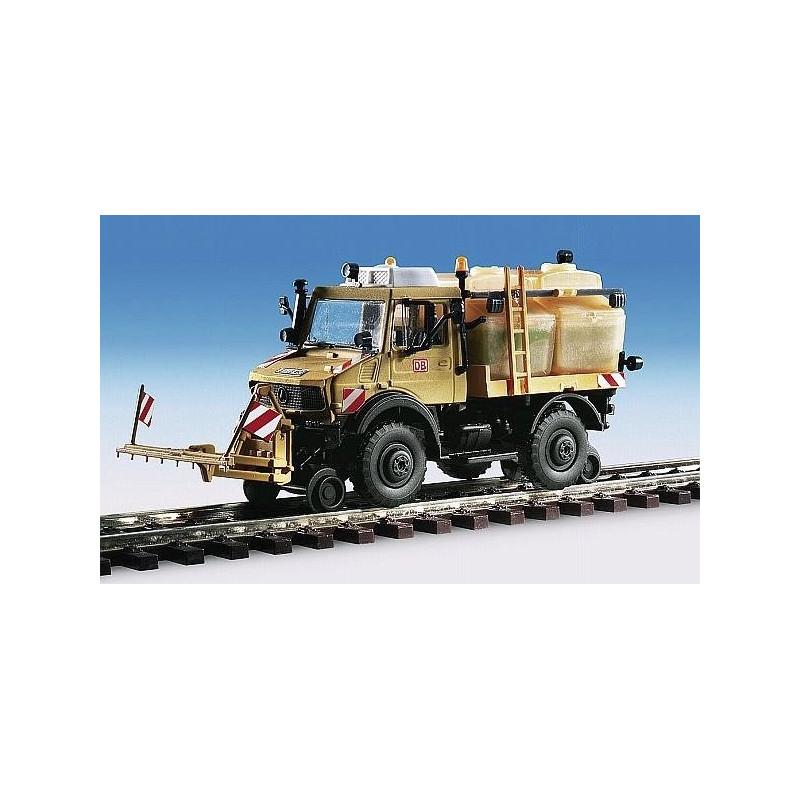 Unimog rail/route avec pluvérisateur - à monter - H0