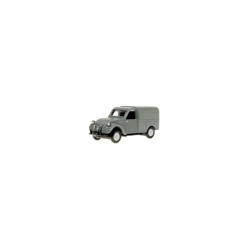 Citroën 2CV AU fourgonnette grise 1951 - H0