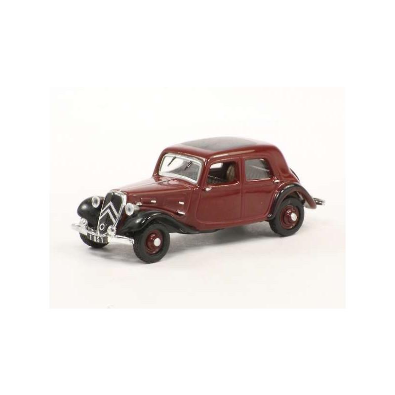 7A 1934 - bordeaux/noire - H0