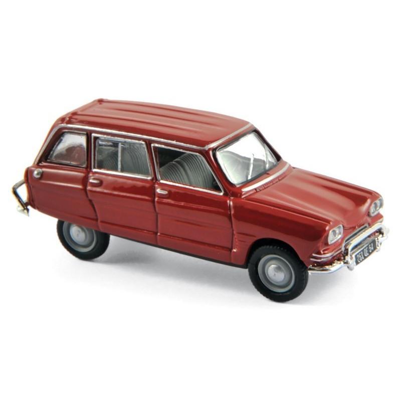 Citroën Ami 6 break - corsair red - 1968 - H0