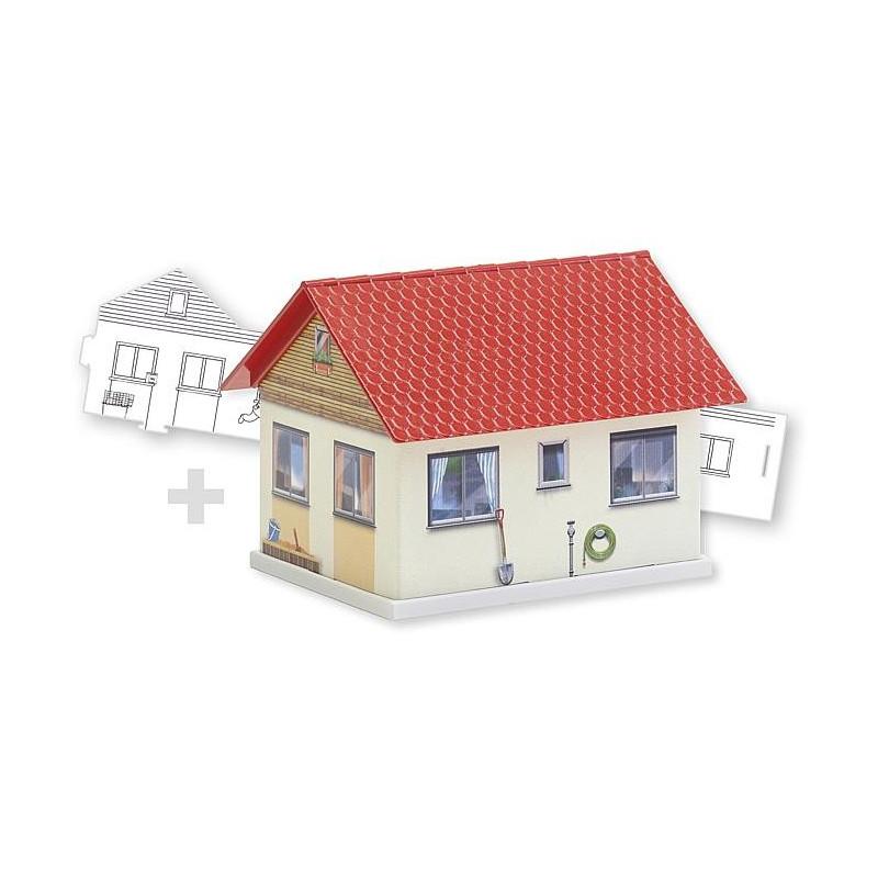 BASIC Maison Familiale, avec 1 variante à colorier