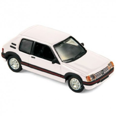 Peugeot 205 GTI 1984 - blanche - H0
