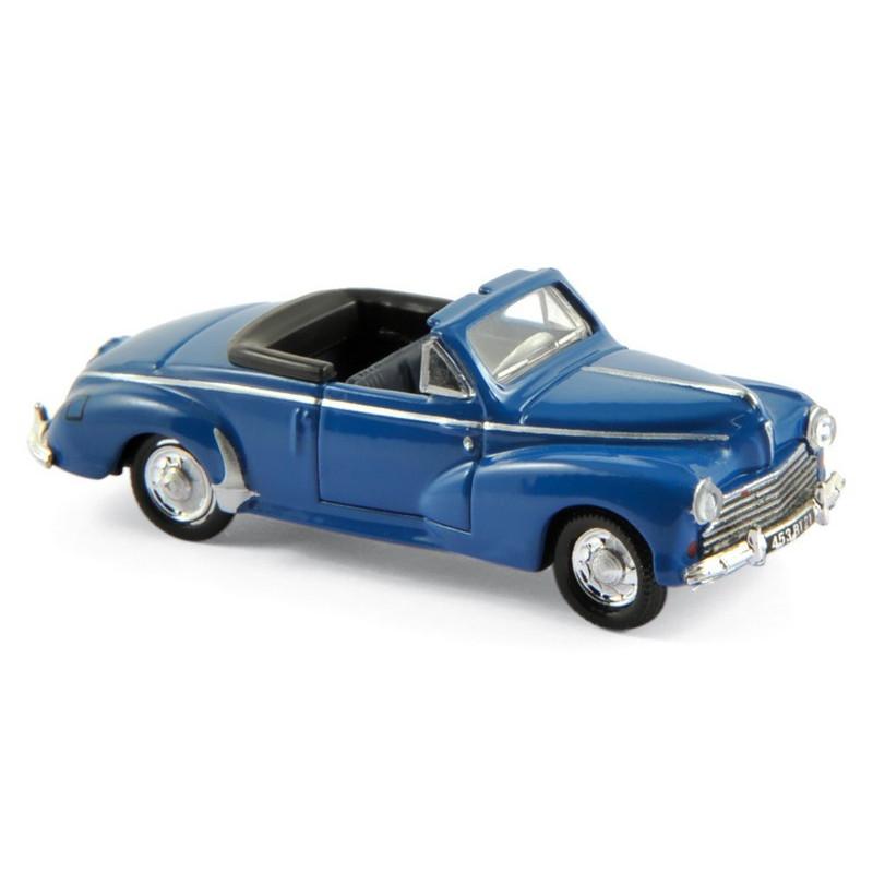 Peugeot 203 cabriolet - bleu - 1952 - H0