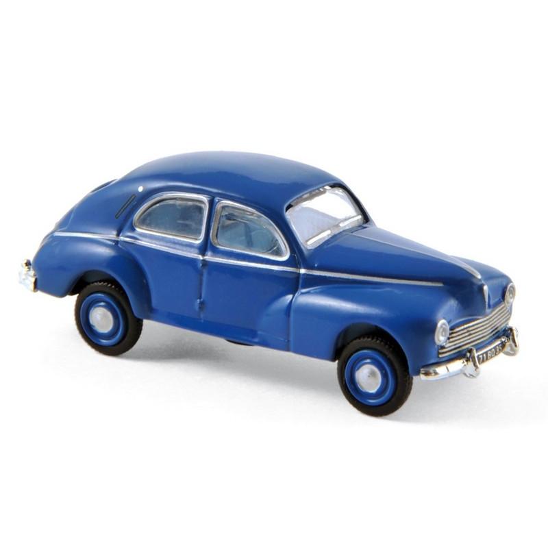 Peugeot 203 bleue - 1954 - H0