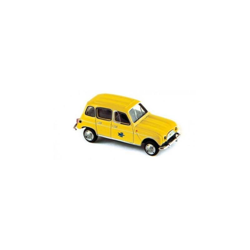 "Renault R4 1962 enseigne ""La Poste"" - H0"