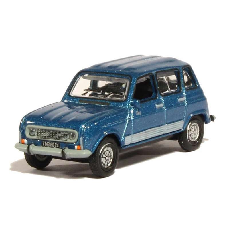 Renault R4 GTL Clan - bleu ardoise - 1987 - H0