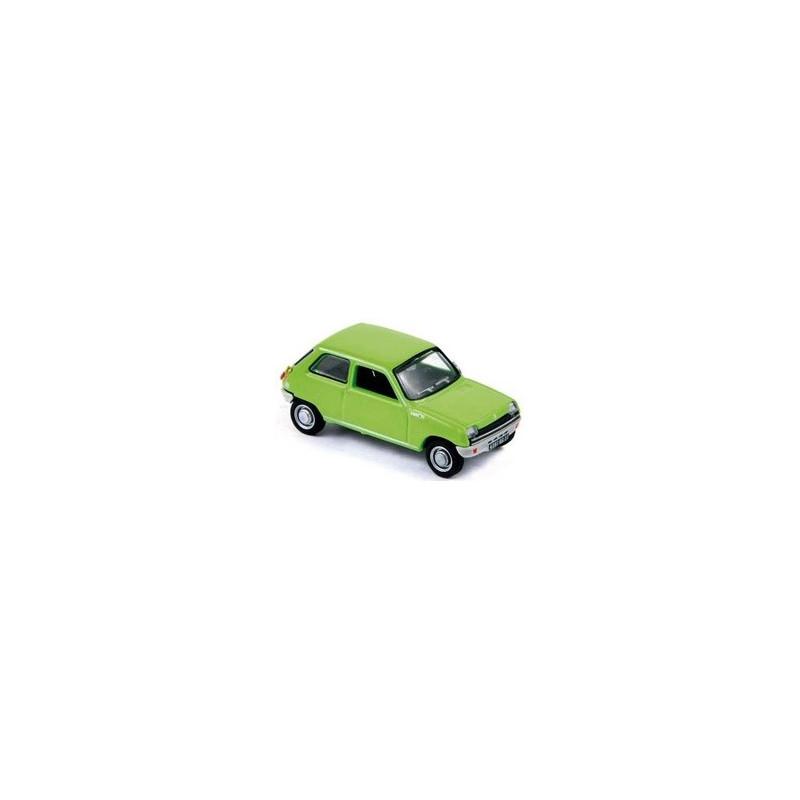 Renault R5 verte 1972 - H0