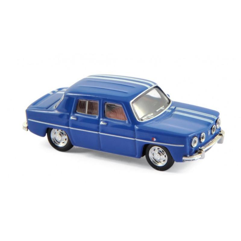 Renault R8 Gordini - bleu de France - 1966 - H0