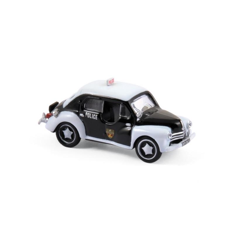 Renault 4CV pie - police - 1955 - H0