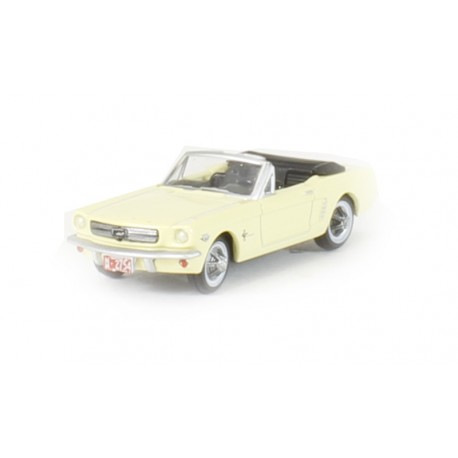 Ford Mustang Convertible jaune 1965 - H0