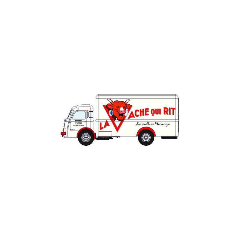 "Panhard Movic fourgon calandre moderne ""La Vache qui rit""  - H0"