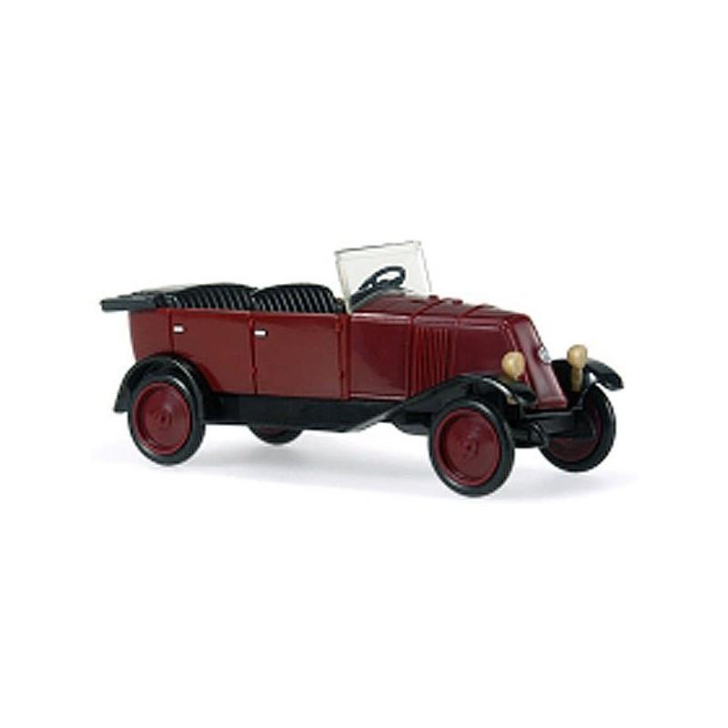 Renault NN 1924/1930 - cabriolet ouvert - lie de vin - H0