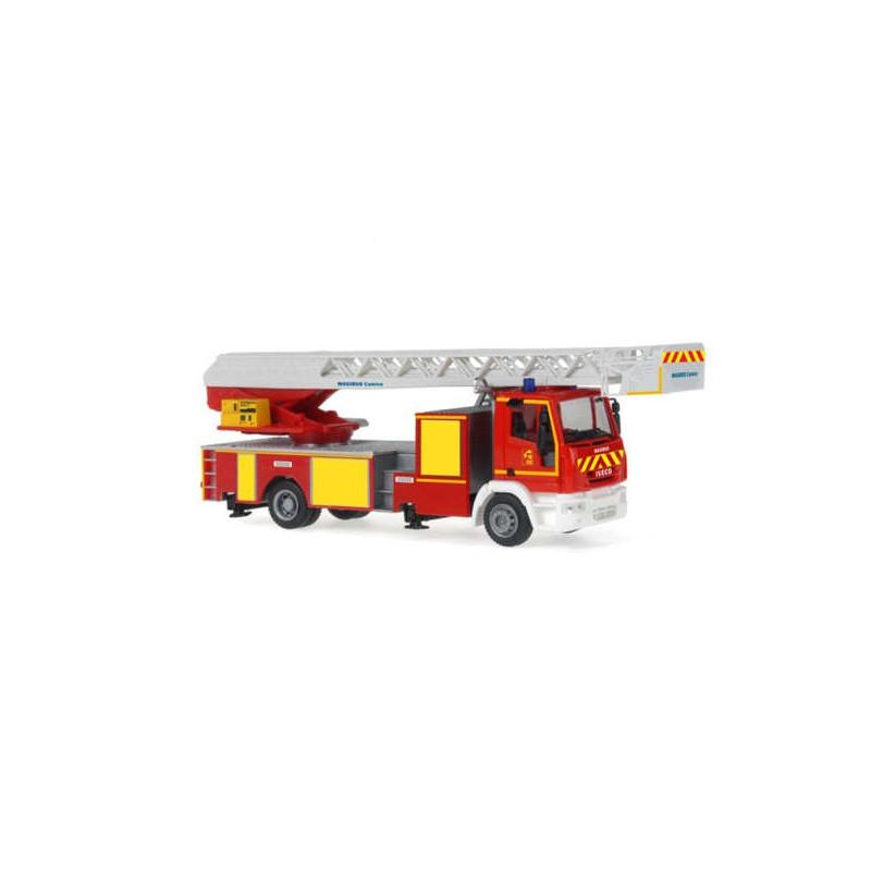 """Camion pompiers Iveco Eurocargo EPA Magirus grande échelle """"18"""" - H0"""