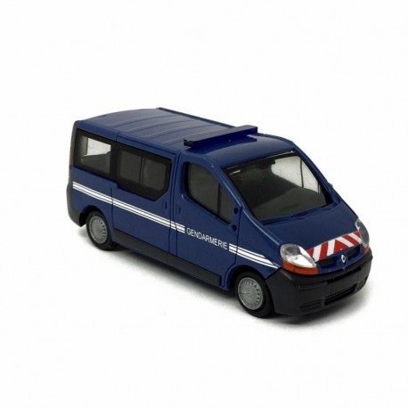 Trafic II gendarmerie + rampe clignotante fonctionnelle - H0