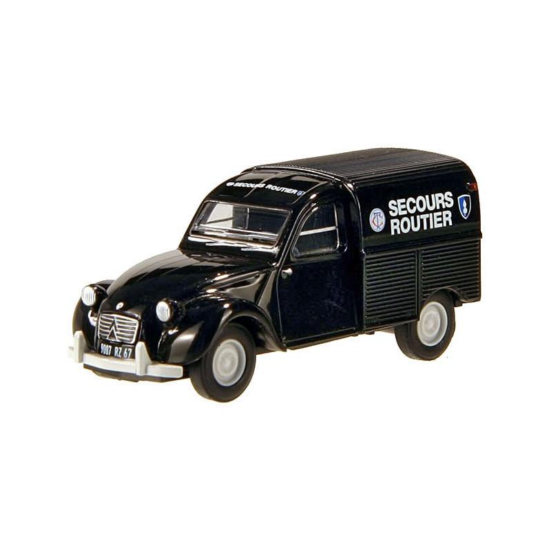 Citroën 2CV fourgonnette AZU 1961 secours routier - H0