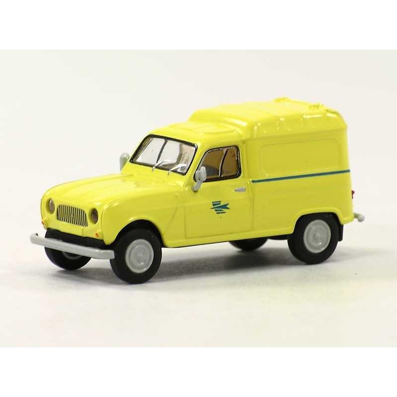 """Renault R4 fourgonnette """"La Poste"""" - H0"""