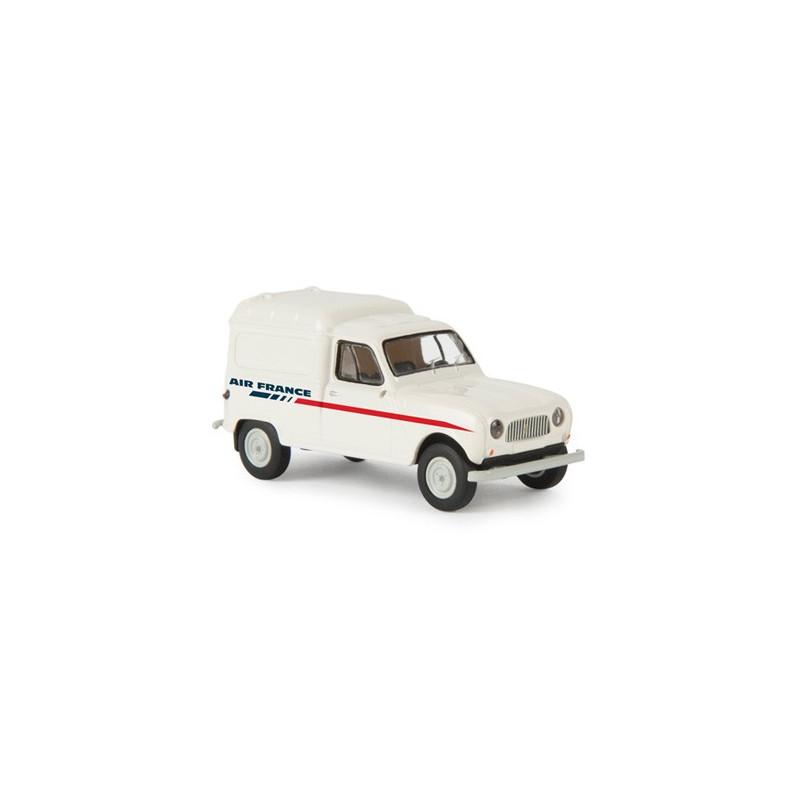 Renault R4 fourgonnette enseigne Air France 1961 blanche - H0