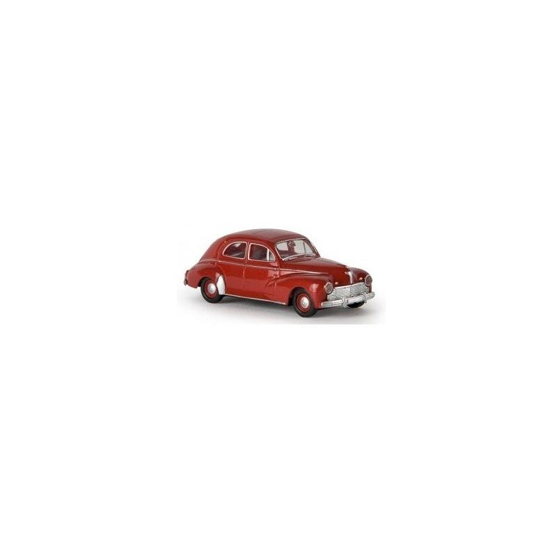 Peugeot 203 - rouge grenat - H0