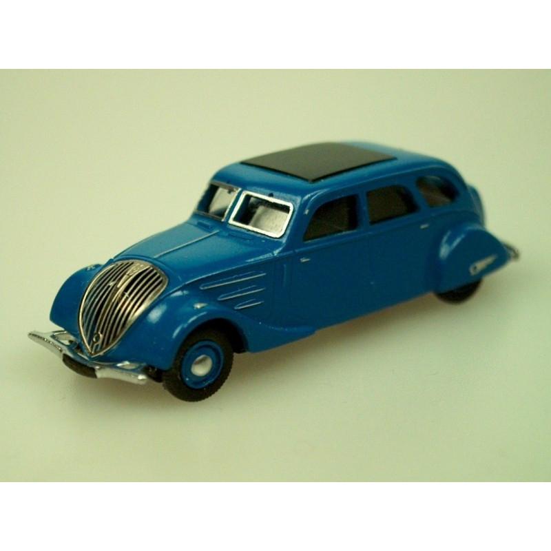 Peugeot 402B limousine - 1939 - noire - H0