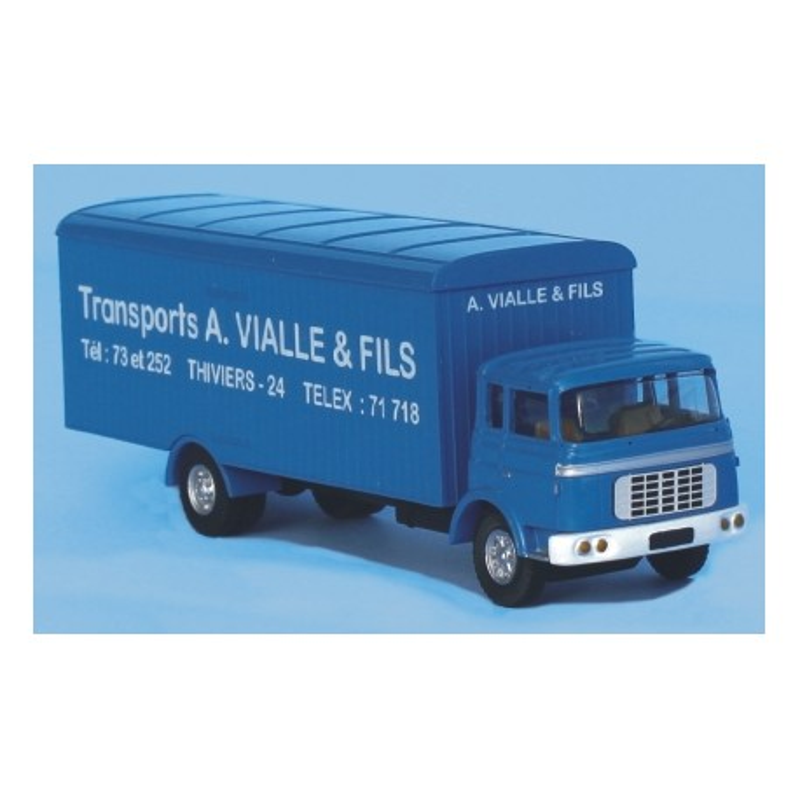Camion Berliet GRK 10 - Transports A. Vialle & fils - H0