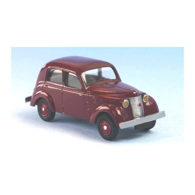Renault Juvaquatre berline grenat 1939 - H0