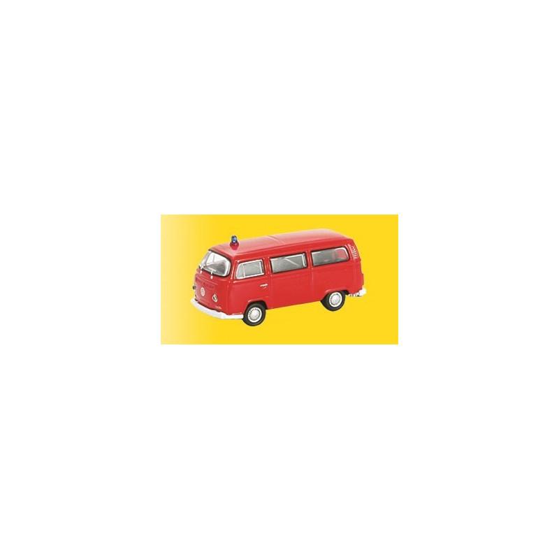 Volkswagen T2 bus - rouge - H0