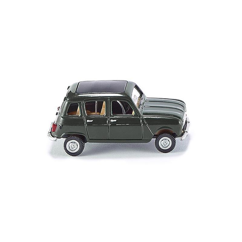 Renault R4 - vert foncé - H0