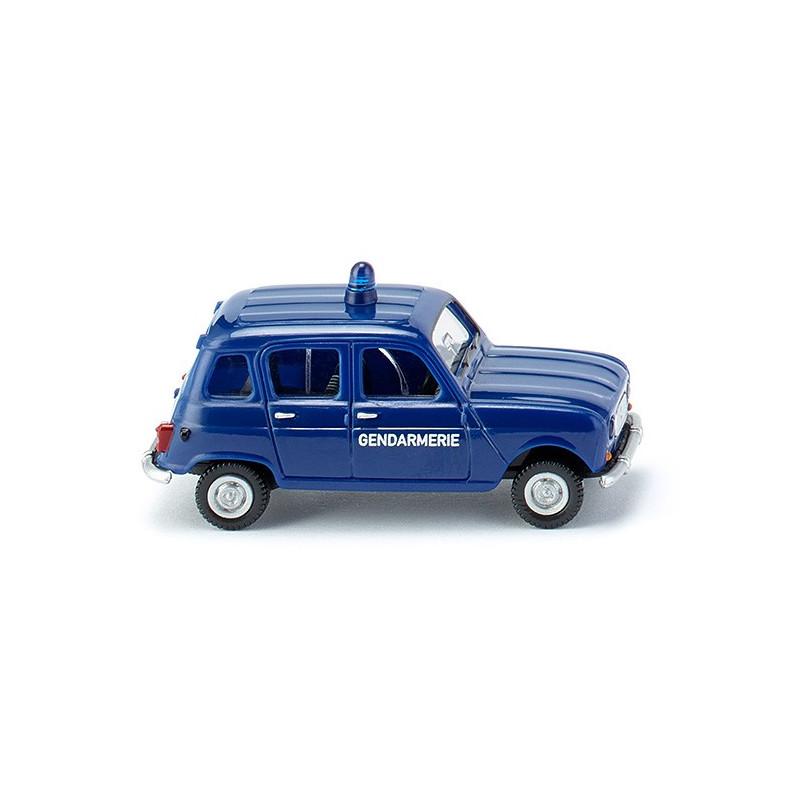 Renault R4 fourgonnette - Gendarmerie - H0