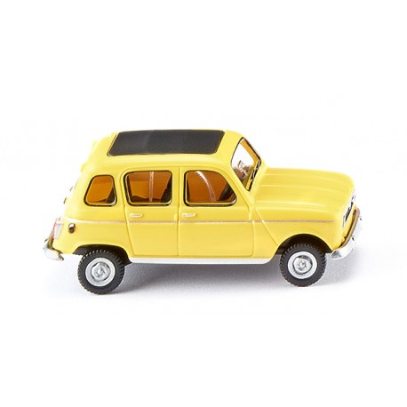 Renault R4 - jaune - H0