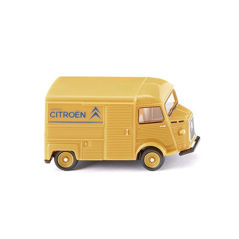 "Citroën HY ""Tube"" - Service Citroën - jaune - H0"