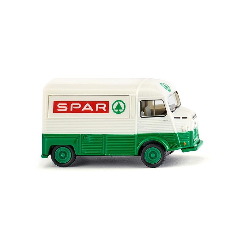 "Citroën HY ""Tube"" - SPAR - blanc/vert - H0"