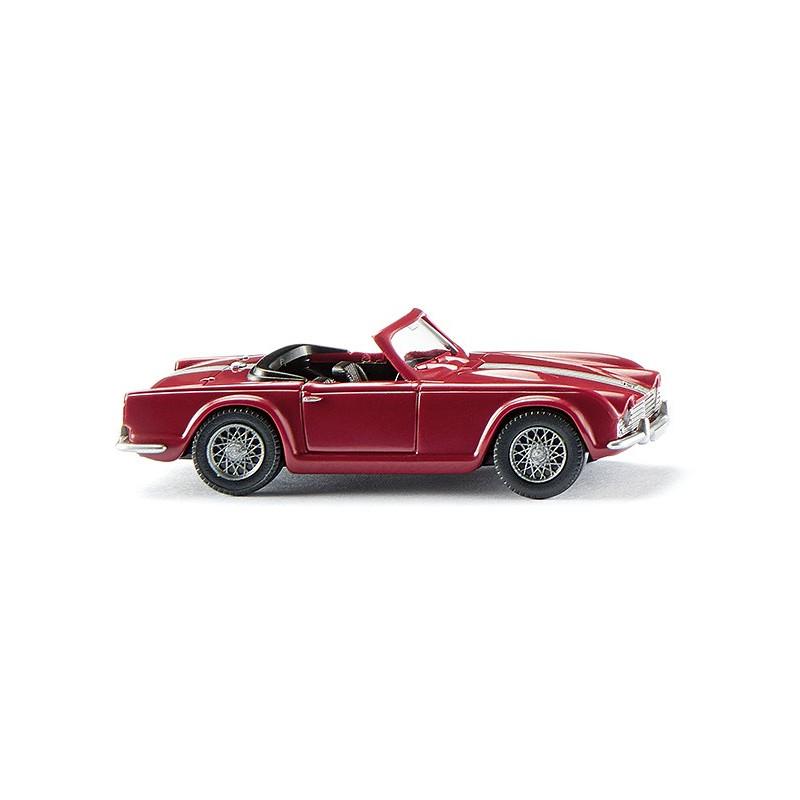 Triumph TR4 rouge - H0