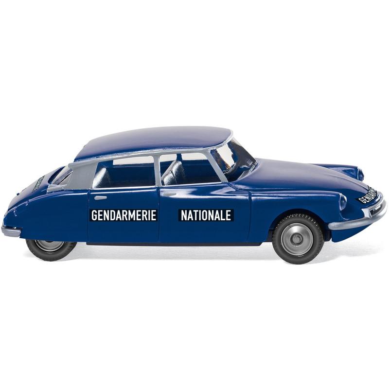 Citroën ID 19 gendarmerie nationale - H0