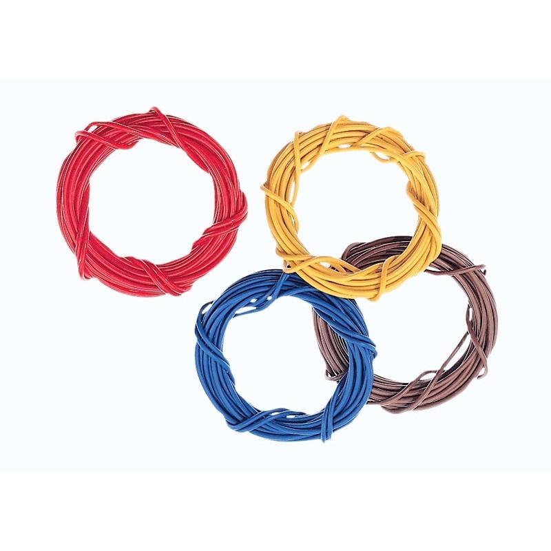 Câble électrique B/J/M/R - 0,75 mm²