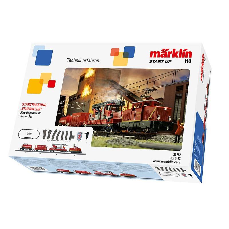 Coffret démarrage analogique Start Up - pompiers - H0