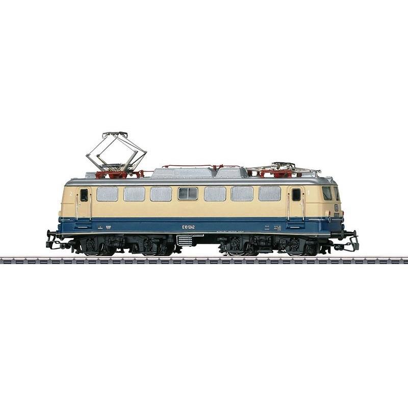 E 10.12 DB - livrée Rheingold - Etat 1962 - digitale - H0