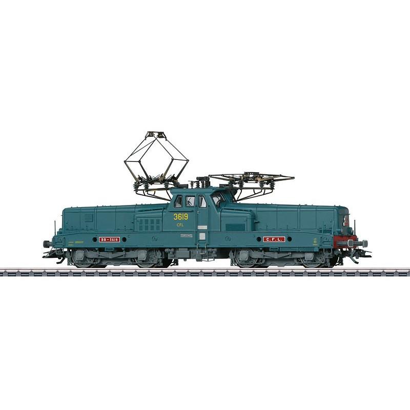 BB 3619 CFL - livrée gris/bleu - H0