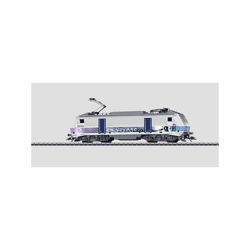 BB 1-26163 - livrée en voyage - dépôt de Dijon-Perrigny - H0