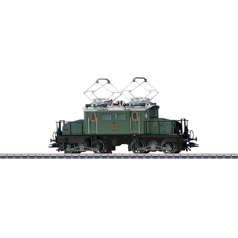 EG 2x2/2 des chemins de fer Bavarois - Etat de service vers 1920 - digitale sonore - H0