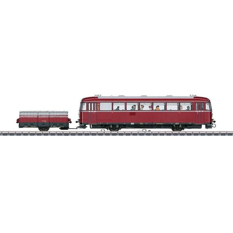 Autorail VT 95.9 avec remorque à deux roues VB 141.2 - DB - H0