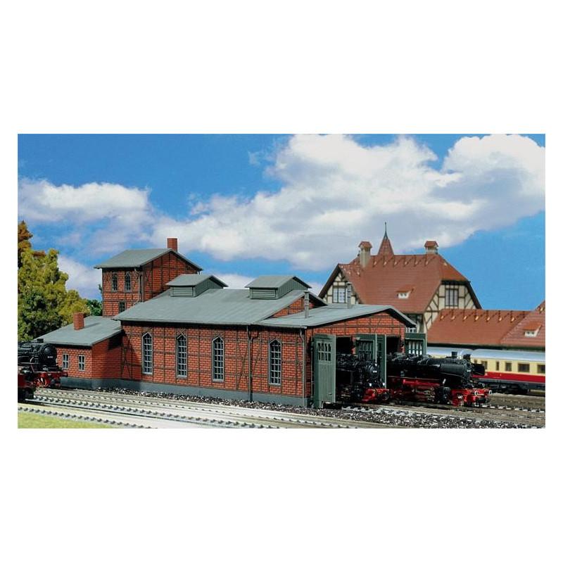 Remise pour 2 locomotives