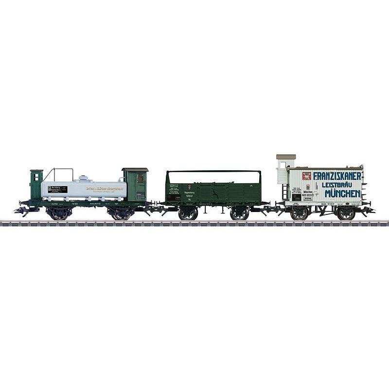 Wagons marchandises des chemins de fer royaux Bavarois - H0